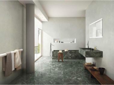 Pavimento/rivestimento in gres porcellanato effetto marmo